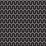 Sömlös abstrakt geometrisk bakgrund för Art Deco sparremodell stock illustrationer