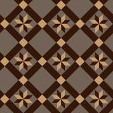 Sömlös abstrakt geometrisk dekorativ bakgrund Arkivfoton