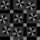 Sömlös abstrakt geometrisk dekorativ bakgrund Royaltyfri Foto
