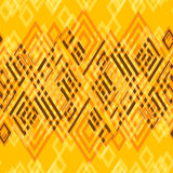 Sömlös abstrakt geometrisk dekorativ bakgrund Arkivfoto