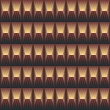Sömlös abstrakt geometrisk modell Royaltyfri Foto