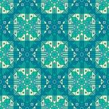 Sömlös abstrakt geometrisk modell med en av en snäll upprepning royaltyfri illustrationer