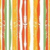 Sömlös abstrakt modell färgade linjer Arkivfoto
