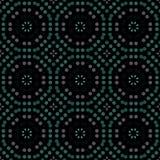 Sömlös abstrakt modellbakgrund med en variation av kulöra cirklar vektor illustrationer