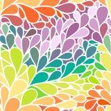 Sömlös abstrakt prydnad för vektor Royaltyfri Foto