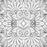 Sömlös abstrakt stam- modell (vektorn) Royaltyfria Bilder