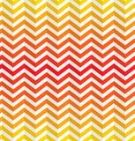 Sömlös abstrakt tandad bakgrund i varma färger Royaltyfria Bilder