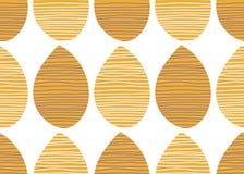 Sömlös afrikansk vektormodell Sommar gjorde randig tygprydnaden Ändlös textiltryckillustration dekorativ design för bakgrund Royaltyfri Foto