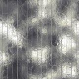 Sömlös Aluminum folie och Tileable textur Arkivbilder