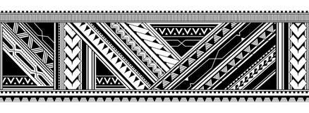 Sömlös armtatueringdesign Fotografering för Bildbyråer