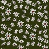 Sömlös bakgrund av blommor Arkivfoton