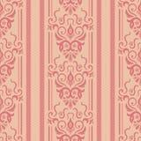 Sömlös bakgrund av rosa färger Royaltyfri Bild