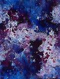 Sömlös bakgrund för akrylvattenfärg stock illustrationer