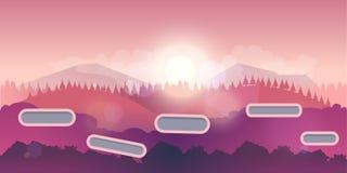 Sömlös bakgrund för applikationer och datorer för lekar mobila royaltyfri illustrationer
