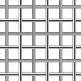 Sömlös bakgrund för Chrome metallraster royaltyfri illustrationer
