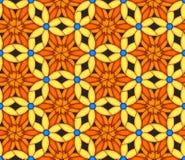 Sömlös bakgrund för färgrik kalejdoskop Royaltyfri Fotografi