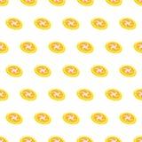 Sömlös bakgrund för frisbee för modellsommarstrand med mallen i provkartor för din bekvämlighet Enkelt att använda royaltyfri illustrationer