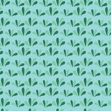 Sömlös bakgrund för grönt gräs blom- grön modell royaltyfri illustrationer