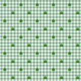 Sömlös bakgrund för marijuanablad Arkivfoto
