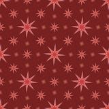 Sömlös bakgrund för modellstjärnarosa färger Arkivbilder