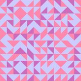 Sömlös bakgrund för triangelmodellabstrakt begrepp med geometrisk moderiktig texturmemphis pastell stock illustrationer