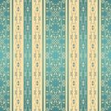 Sömlös bakgrund med band för design i beiga- och blåttfärger vektor illustrationer