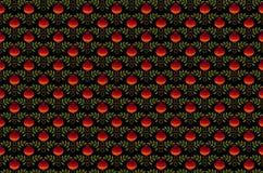 Sömlös bakgrund med den röda granatäpplet Arkivfoto