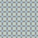 Sömlös bakgrundsbild av för oktogonkors för runt hörn geometri Arkivfoton