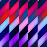 Sömlös bakgrundsmodell för abstrakt geometrisk färg Royaltyfria Bilder