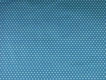 Sömlös blå prickbakgrund Royaltyfria Bilder