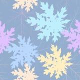 Sömlös bladpastell Arkivbild