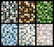 Sömlös blandning av mosaiken. Royaltyfri Foto