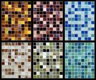 Sömlös blandning av mosaiken. Royaltyfri Fotografi