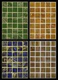Sömlös blandning av mosaiken Arkivfoton
