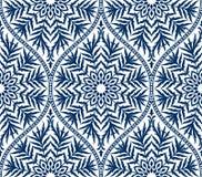 Sömlös blom- damast prydnadbakgrund för vektor vektor illustrationer