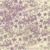 Sömlös blom- grungebakgrund Royaltyfria Bilder