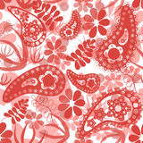 Sömlös blom- modell Royaltyfria Bilder