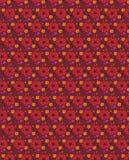 Sömlös blom- modell för Grunge med utdragna djärva former för hand Textur för rengöringsduken, tryck, textil, tyg, vårsommarmode, stock illustrationer