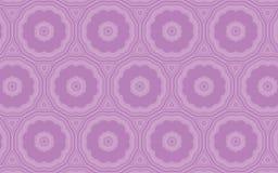 Sömlös blom- modell för vektor i lila och malvafärgade färger stock illustrationer