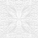 Sömlös blom- modell i traditionell stil Royaltyfria Bilder
