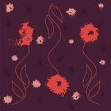Sömlös blomma Royaltyfri Bild