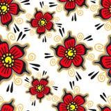 Sömlös blomma Fotografering för Bildbyråer
