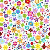 Sömlös blomma Arkivbild
