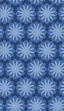 Sömlös blommavektormodell/bakgrund Arkivbilder