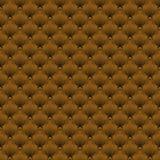 Sömlös brunt för ellipsmodellockra diagonalt Royaltyfri Foto