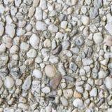 Sömlös cementerad kiselstentextur Royaltyfria Foton