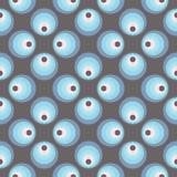 Sömlös cirkelmodell Royaltyfri Fotografi