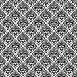 Sömlös damast lyxig bakgrund Royaltyfri Foto