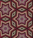 Sömlös dekorativ modell från stjärnor Royaltyfri Bild