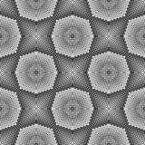 Sömlös designmodell för vektor prickar vektor illustrationer